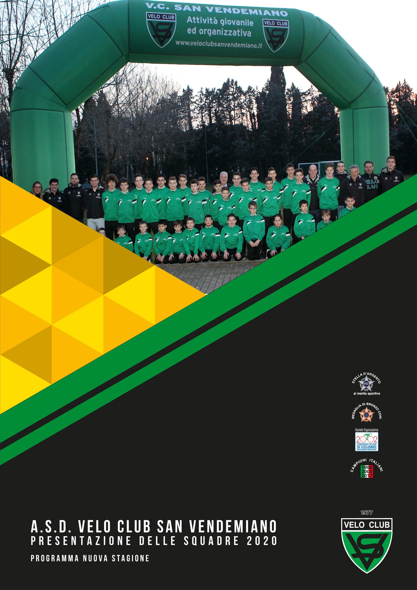 A.S.D. VELO CLUB_DEPLIANT PRESENTAZIONE 2020