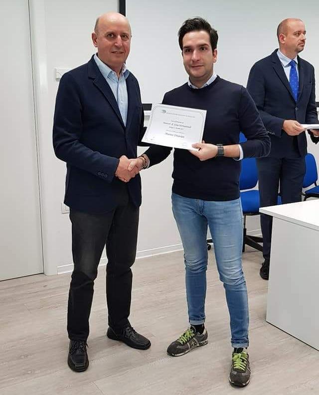 Ottavian Diploma DirGarInt17